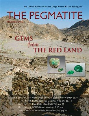 The Pegmatite - November 2012