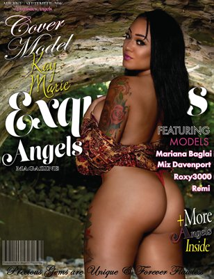 Exquisite Angel Cover Model Kay Marie Aug./Sept. 2016 Issue