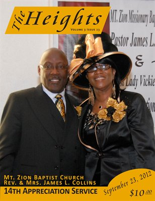 Volume 3 Issue 23 - 14th Appreciation Service Rev. & Mrs. James L. Collins