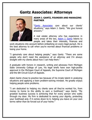 Gantz Associates: Attorneys