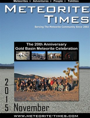 Meteorite Times Magazine - November 2015 Issue