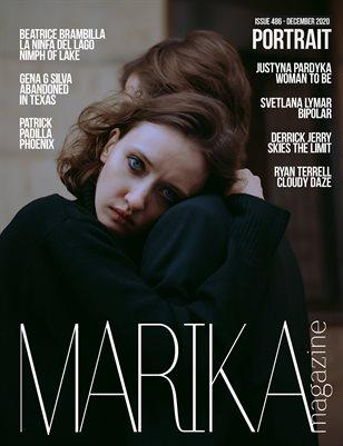 MARIKA MAGAZINE PORTRAIT (ISSUE 486 - DECEMBER)