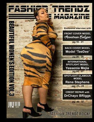 Fashion Trendz Magazine Beautiful Women's Edition Vol.3