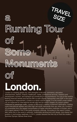 London Running Tour [Travel Size]