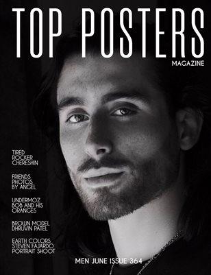 TOP POSTERS MAGAZINE- MEN JUNE (Vol 364)