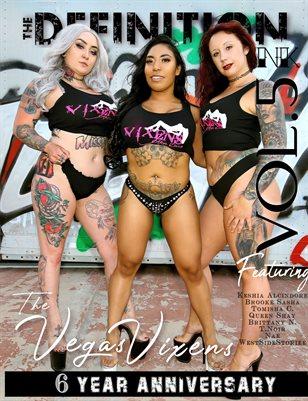 TDM:INK 6yr Anniversary Vegas VixensVol.5 Cover 1