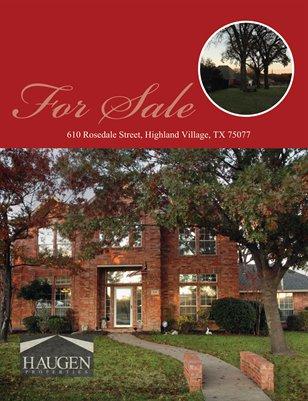 Haugen Properties -  610 Rosedale Street, Highland Village, TX 75077