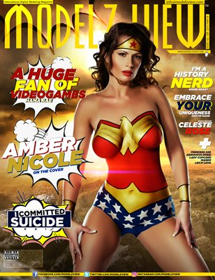 MODELZ VIEW SEP 2019 PART III - SUPERHERO SPECIAL EDITION - ISSUE # 142