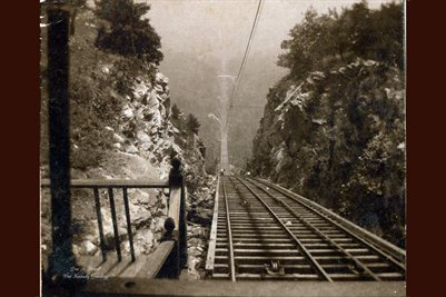 Incline Rail Road, Lookout Mountain, Tennessee Ca. 1900
