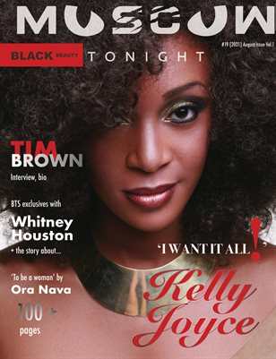 MOSCOW tonight magazine/August 2021 Vol. 1/Black Beauty issue