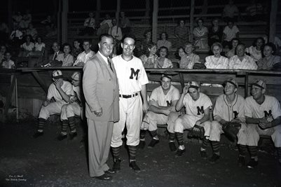 AUGUST 9, 1949 HAPPY CHANDLER & MAYFIELD BASEBALL CLUB