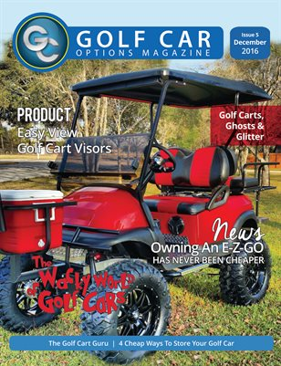 Golf Car Options Magazine - December 2016