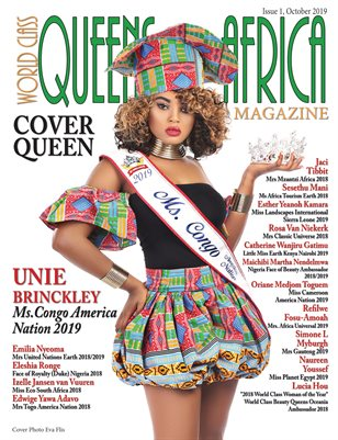 World Class Queens of Africa Magazine Issue 1 with Unie Brinckley