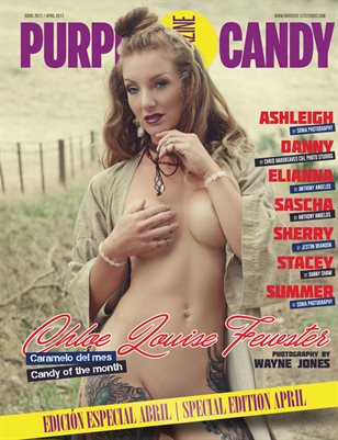 PURPLE CANDY MAGAZINE APRIL 2017 SPECIAL EDITION
