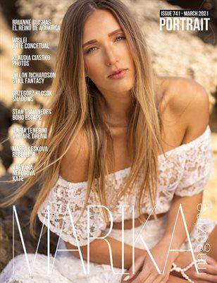 MARIKA MAGAZINE PORTRAIT (ISSUE 741 - MARCH)