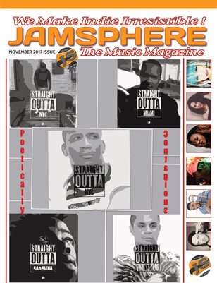Jamsphere Indie Music Magazine November 2017