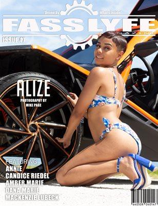 FASS LYFE MAGAZINE ISSUE 47 FT. ALIZE