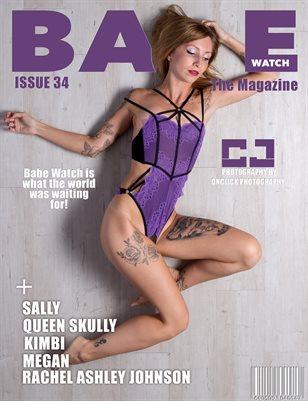BABE WATCH MAGAZINE ISSUE 34 FT. CJ