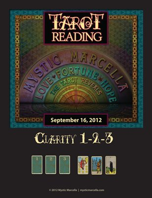 Mystic Marcella Sample 3 Card Tarot Reading