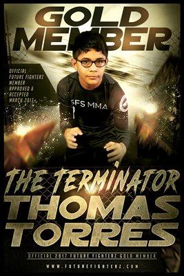 Thomas Torres Gold Member/Diploma Poster