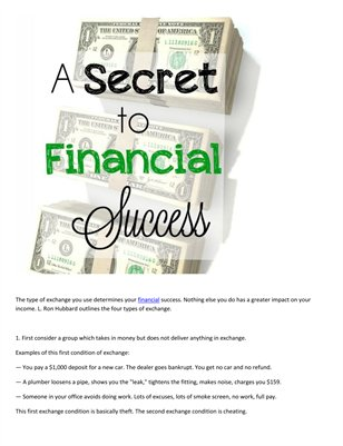 Financial success artilcle: Meir Ezra