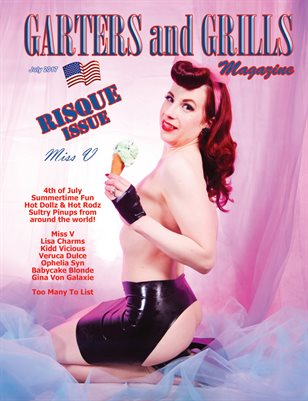 July Risque Miss V