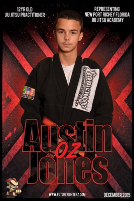 Austin Jones Red - Poster