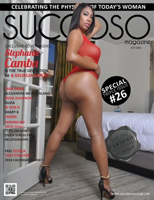 Succoso Magazine Triple Issue #26 featuring Cover Model Stephanie Camba