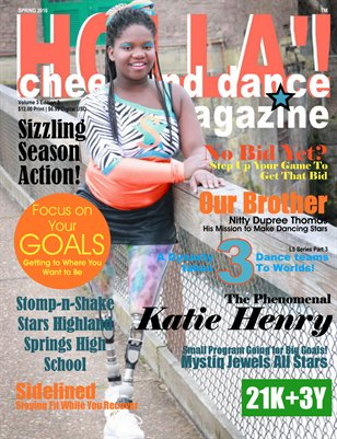 HOLLA'! Cheer and Dance Magazine Spring 2016 Issue