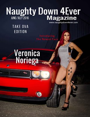 Take Ova Edition ( Veronica Noriega ) June/July Issue