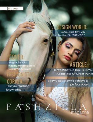 Fashzilla Magazine - July 2021
