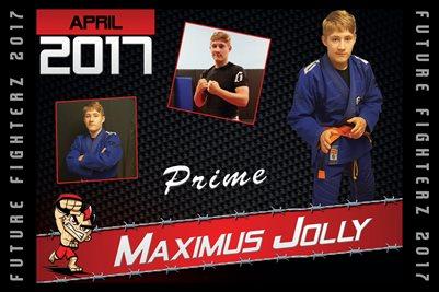 Maximus Jolly Cal Poster 2017