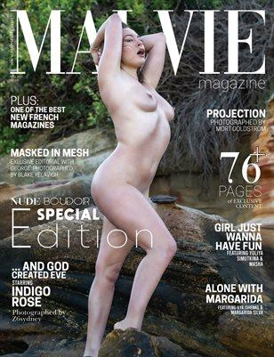 MALVIE Mag NUDE & Boudoir Vol. 04 August 2020