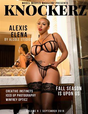 Knockerz Magazine #9 (Alexis Elena)