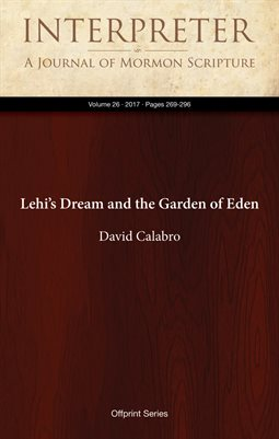 Lehi's Dream and the Garden of Eden