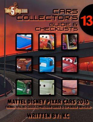 Themes 2016 CARS Yearbook: Complete Visual Checklist & Guide