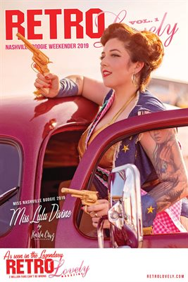 Miss LuLu Divine Cover Poster