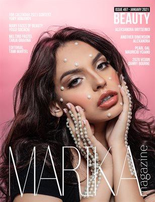 MARIKA MAGAZINE BEAUTY (ISSUE 497 - January)