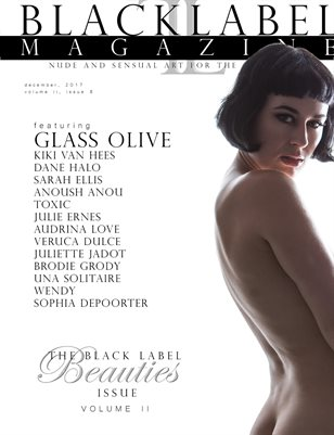 Black Label Magazine Issue #8: The Beauties Issue Vol. 2