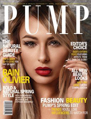 PUMP Magazine - The Art of Fashion - Vol.3 - April 2020