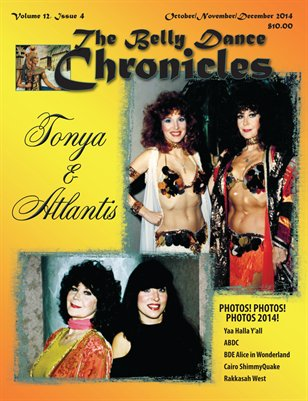 2014 Oct/Nov/Dec The Belly Dance Chronicles