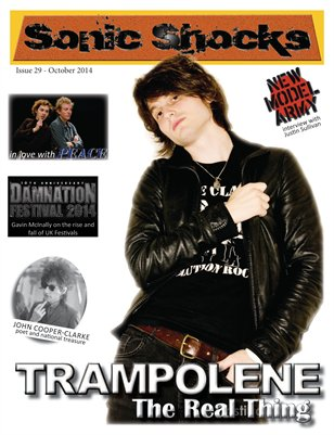 SONIC SHOCKS Issue 29 - October 2014