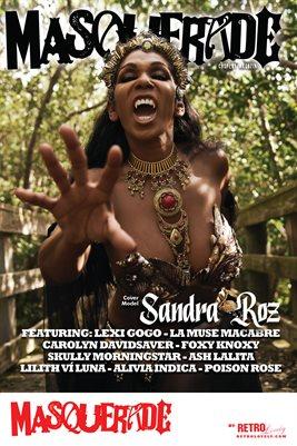 Masquerade No.1 – Sandra Roz Cover Poster
