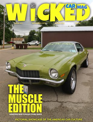WICKED CAR MAG 71 CAMARO LIMELIGHT