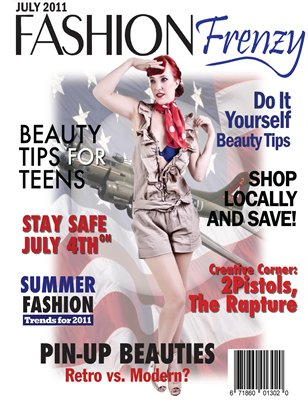 Fashion Frenzy Magazine - July/Aug Issue