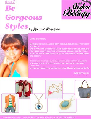 Be gorgeous styles Magazine issue 2