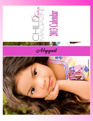 Child Couture  2013 Annual Calendar