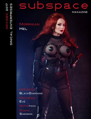 subspace Nov/Dec 2017 - Morrigan Hel cover edition