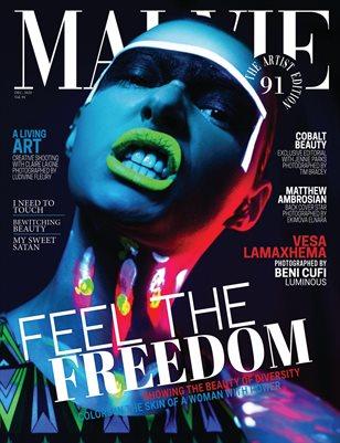 MALVIE Mag The Artist Edition Vol 91 December 2020