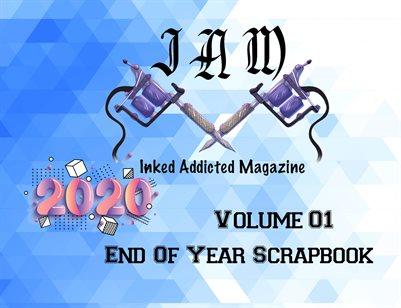 2020 End Of Year Scrapbook Volume 01